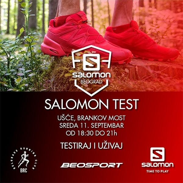 Salomon test - testiraj i uživaj