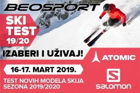 Ski test modela za sezonu 2019/20