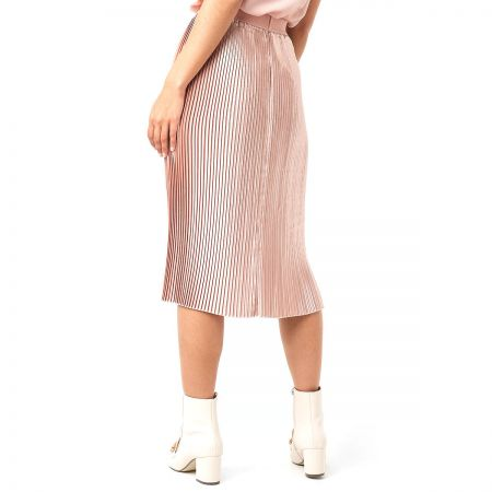 NA-KD Shiny Pleated suknja