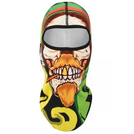 NGN Sublimation Irish Skull fantomka