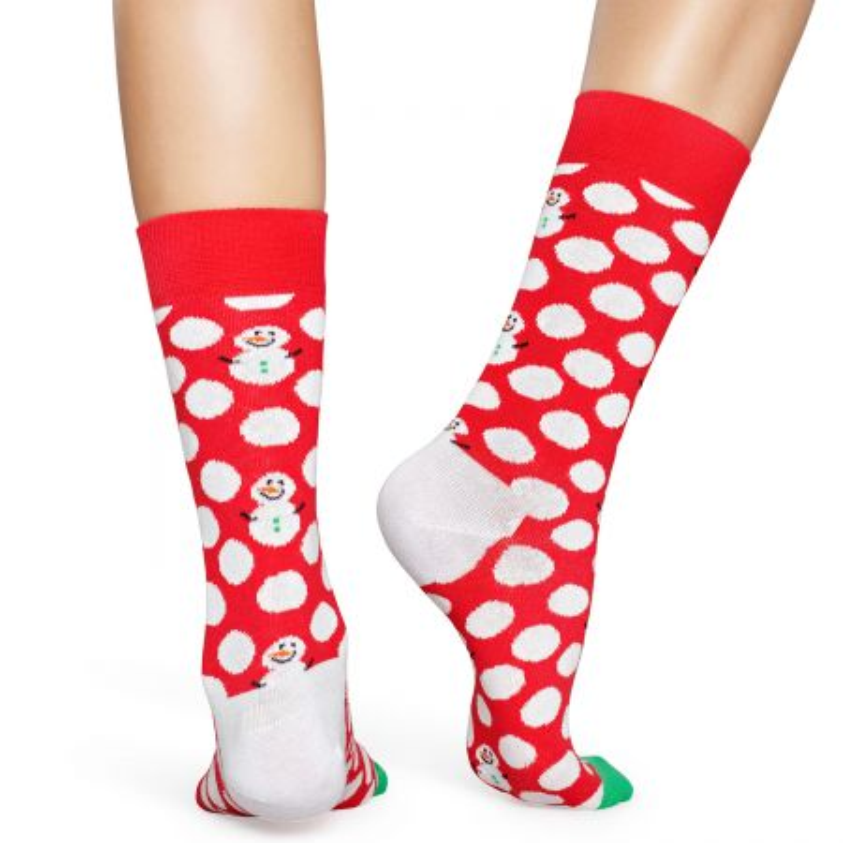 Happy Socks Big Dot Snowman čarape