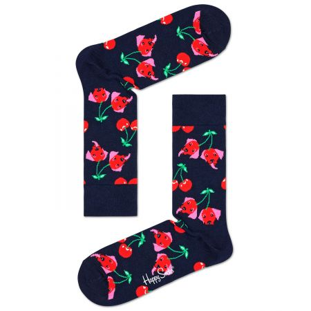Happy Socks Cherry Dog čarape
