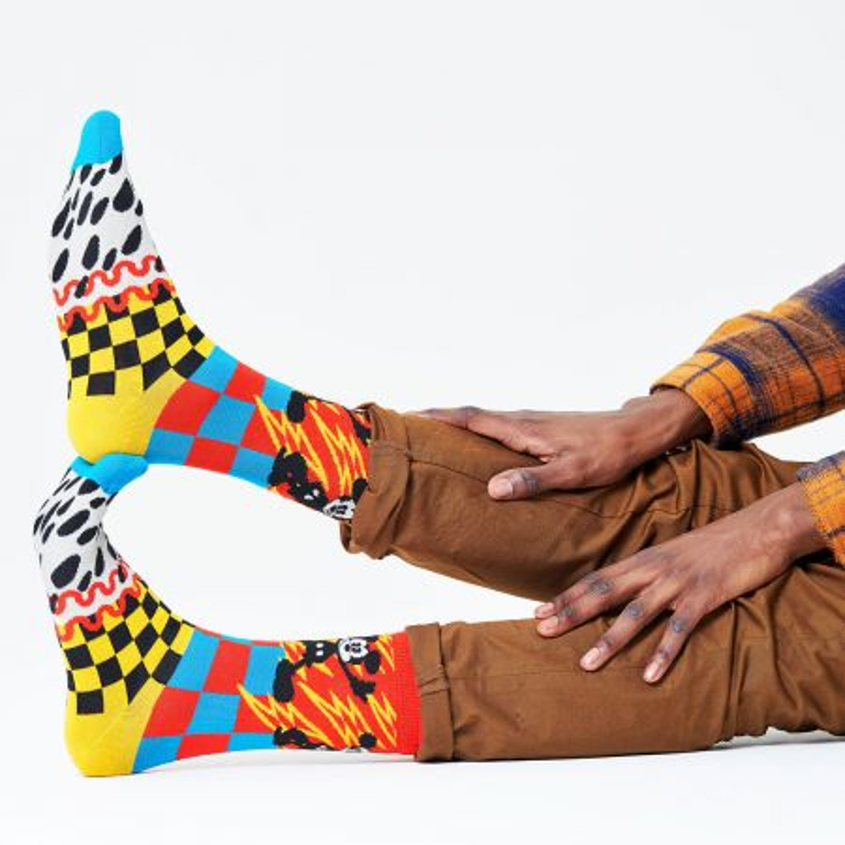 Happy Socks Disney Mickey-Time čarape