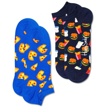 Happy Socks 2-Pack Junk Food Low čarape