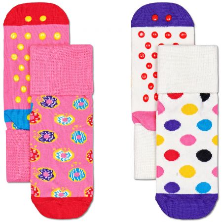 Happy Socks 2-Pack Kids Donut čarape