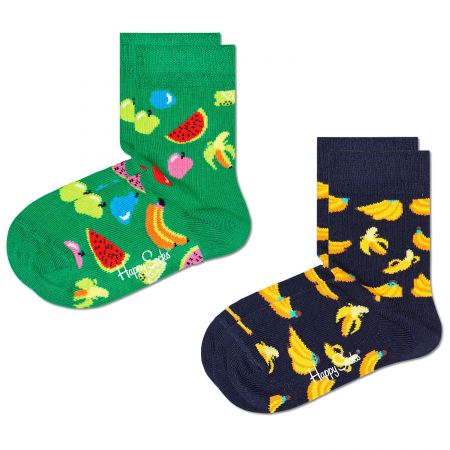 Happy Socks 2-Pack Kids Fruit čarape