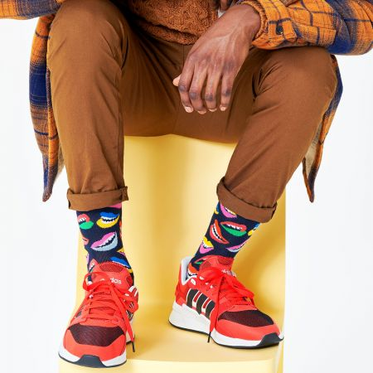 Happy Socks Lips čarape