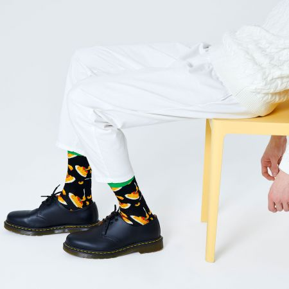 Happy Socks Mac & Cheese čarape