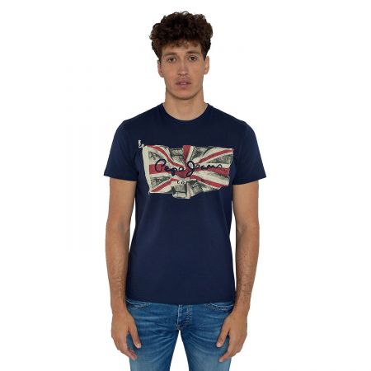 Pepe Jeans Flag Logo majica