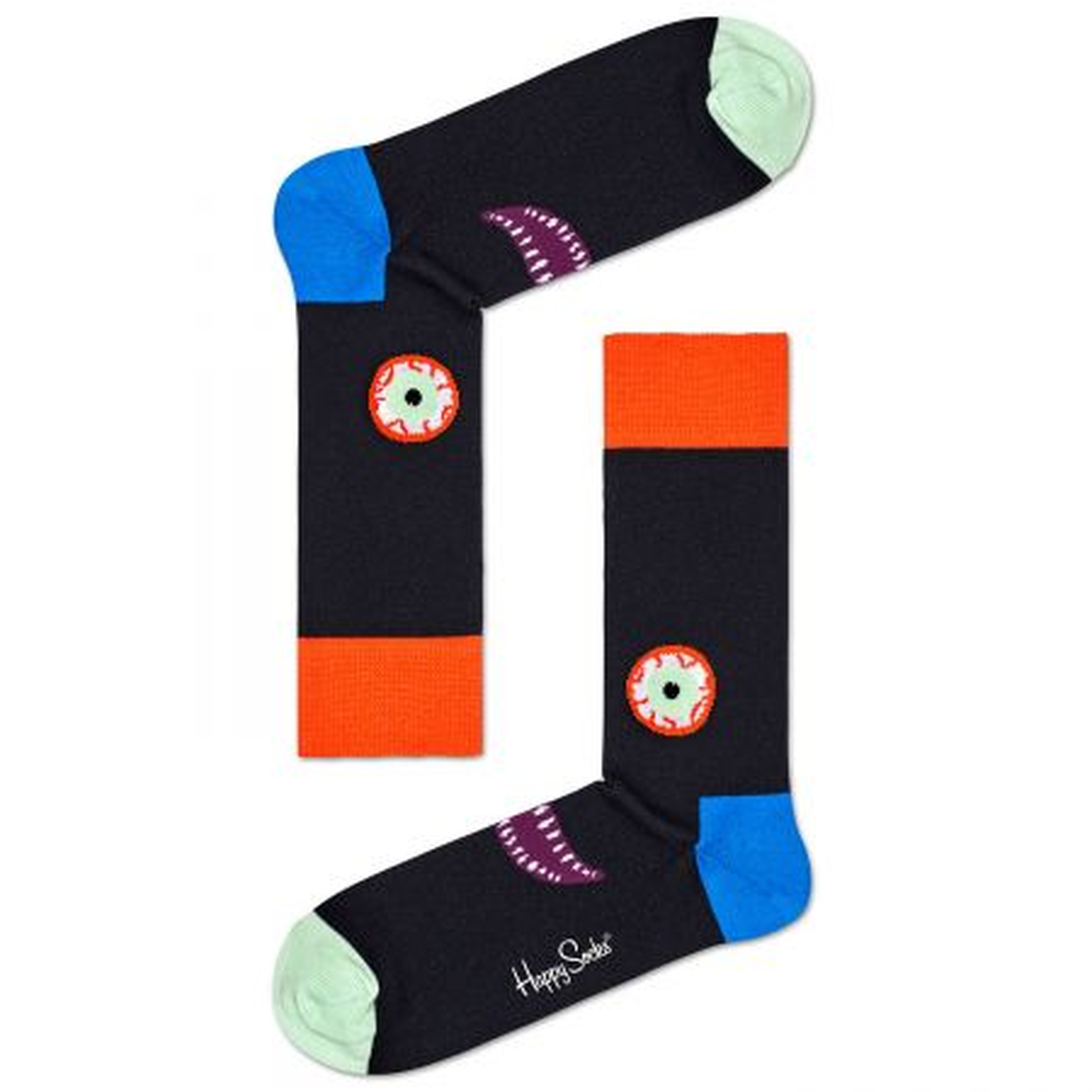 Happy Socks Scary Face čarape
