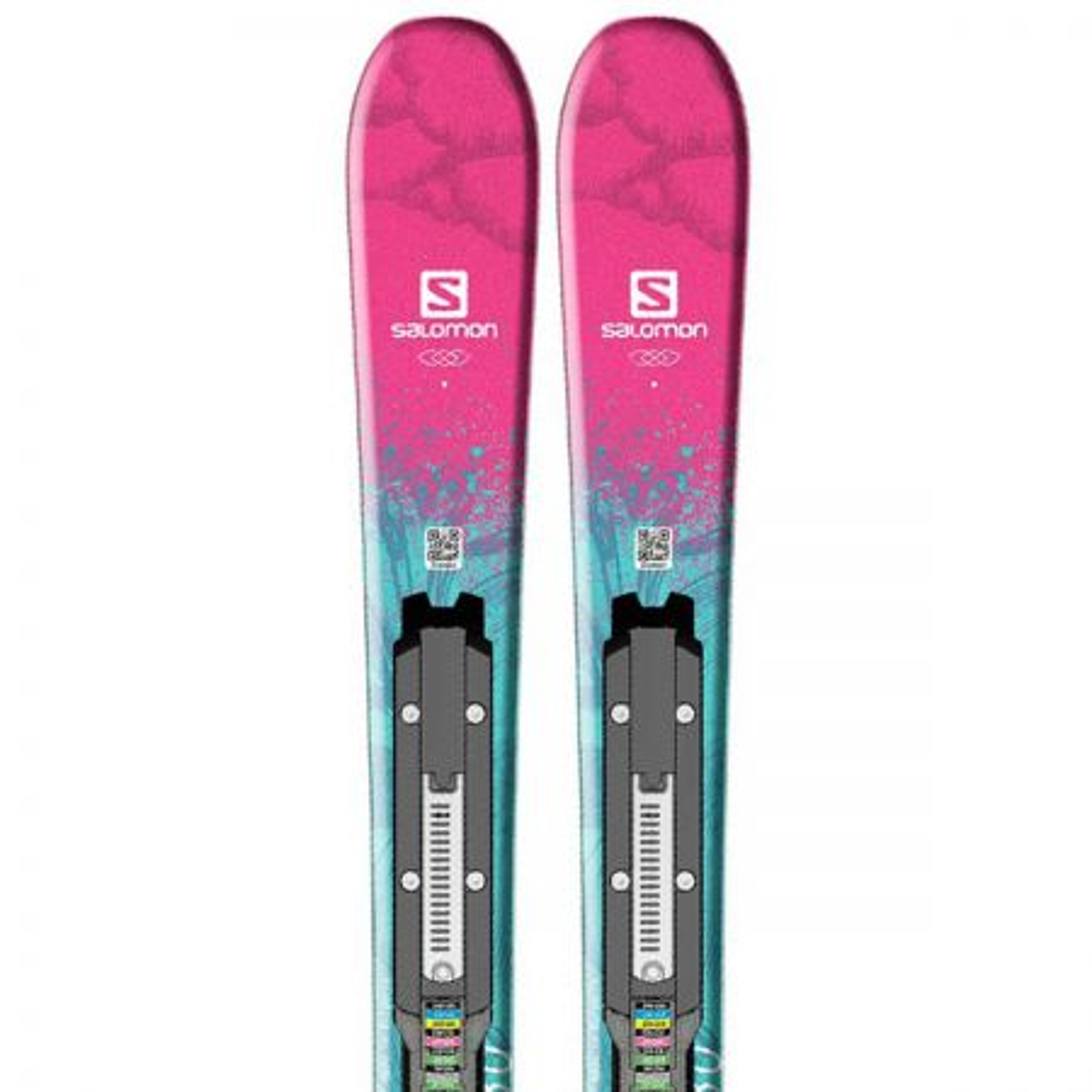 Salomon QST Lux JR + Easytrak 5 skije sa vezovima
