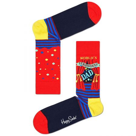 Happy Socks World´s Strongest Dad čarape