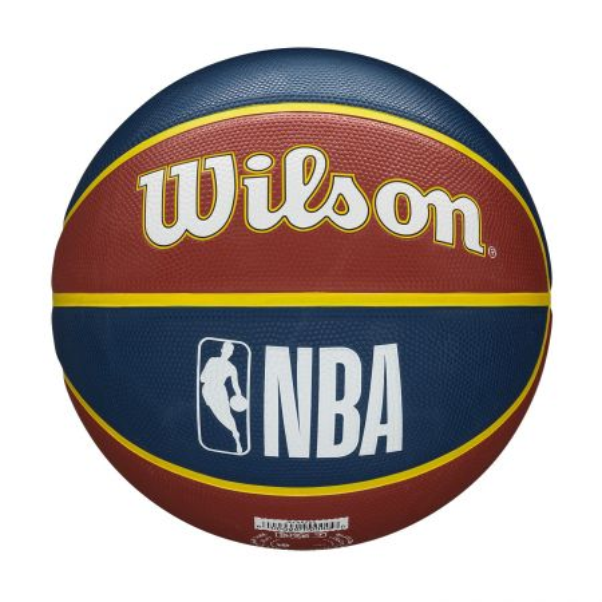 Wilson NBA Team Tribute Denver Nuggets lopta