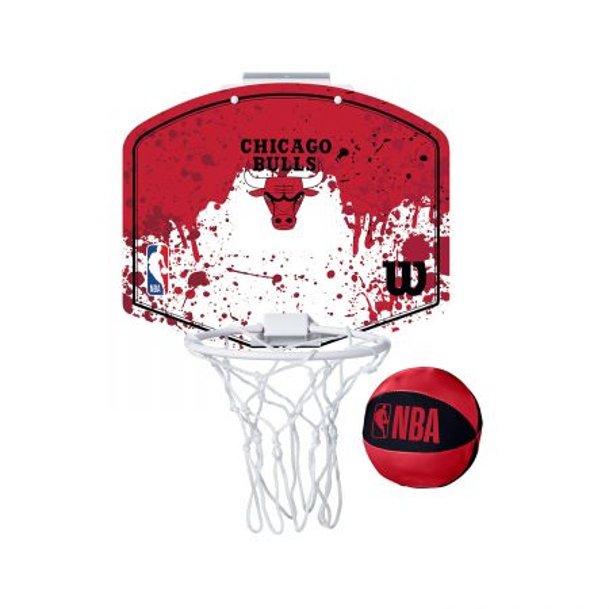 Wilson NBA Team Mini Hoop Chi Bulls