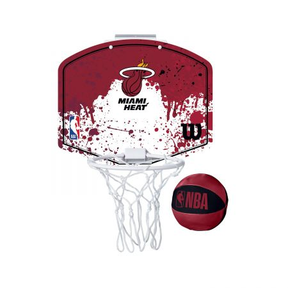 Wilson NBA Team Mini Hoop Mia Heat