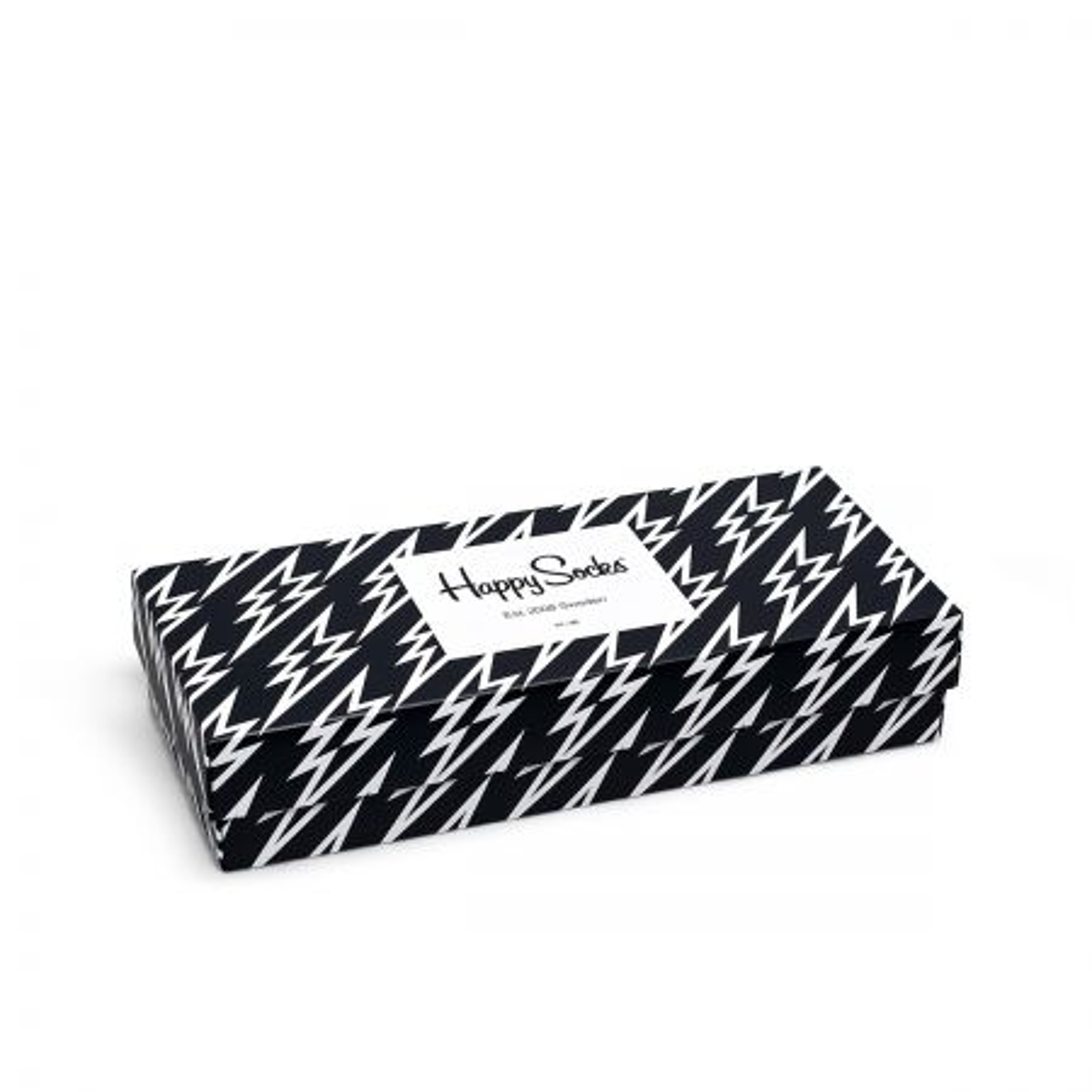 Happy Socks Black And White gift box čarape