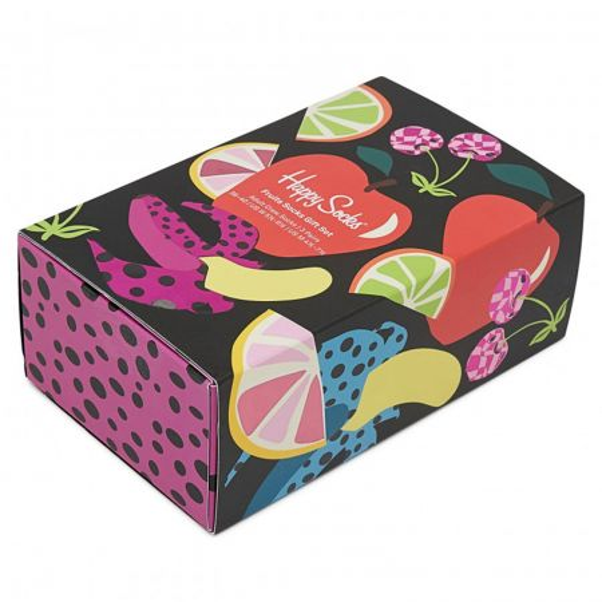 Happy Socks 3-Pack Fruits čarape